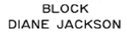 three dimensional composite font style block